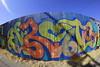 ENRONS (SPEAR1X) Tags: california ca street wall graffiti losangeles graf fisheye socal spraypaint 8mm regis altura enron enrons
