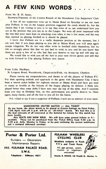 Fulham vs Coventry City - 1968 - Page 5 (The Sky Strikers) Tags: city one football official cottage division coventry fulham craven shilling league programme