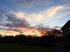 Sunset At Alice Holt (Marc Sayce) Tags: park sunset england forest downs tramonto sundown forestry alice south hampshire surrey lodge national holt commission fiery farnham coucherdusoleil sdnp