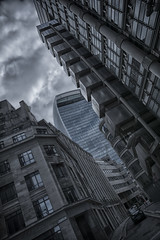 Everest (Nick.Richards) Tags: street city london architecture buildings nikon moody gloomy taxi nickrichards hdr lloyds offices walkietalkie blackcab lightroom lloydsoflondon squaremile nikefex hackneycarriage d7100 nikon1685 hdrefex nikond7100