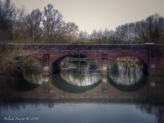 Iford Bridge (Belinda Fewings (5 million views. Thank You)) Tags: street city travel colour building brick history beautiful beauty architecture reflections out outside outdoors reflecting march three seaside spring arty artistic bokeh creative arches best depthoffield dorset colourful lovely bournemouth redbrick riverstour beautify ifordbridge panasoniclumixdmc pbwa creativeartphotograhy belindafewings