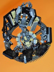 Decibelle_11 (Shadowgear6335) Tags: orange radio robot factory lego good technic hero bionicle mech moc shadowgear6335 bionicle2015
