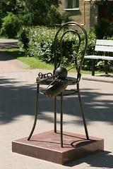Monument to a Granny (Sergei P. Zubkov) Tags: sculpture june bronze 2009 terijoki