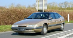Citron XM V6 1990 (XBXG) Tags: auto old 2 france classic car french beige automobile citron marcy voiture route frankrijk 1990 xm picardie v6 ancienne nationale tanis n2 picardy aisne marle franaise picardi rn2 citronxm marcysousmarle dl595qe