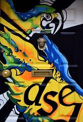 Doors of Dublin (Keith Mac Uidhir  (Thanks for 3.5m views)) Tags: door blue ireland dublin white black color colour green bird art colors yellow colorful colours display parrot irland georgian colourful dublino irlanda irlande ierland irska dubln irlandia lirlanda irsko  airija irlanti  cng  iirimaa ha     rorszg         rlnd