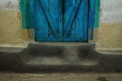 Threshold XIII (Gattam Pattam) Tags: door india house abstract colour architecture mud vernacular form entry chhattisgarh