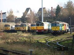 Leicester Depot (Oz_97) Tags: leicester orion cassiopeia 56006 56032 56077 56069 86701 86702 thelancashirewitch 58016 86213 86235 56037 56038