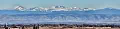 The Rocky Mountains in Denver Colorado (Gail K E) Tags: panorama usa mountains beautiful nikon colorado snowy scenic denver snowcapped highdesert rockymountains frontrange highplains milehighcity nikond7000