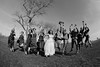 Jump! (dr.snitch) Tags: bw photography jumping bridalparty weddng briangeltner canon15mmf28