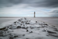 High tide (Paul-Farrell) Tags: longexposure lighthouse canon wirral newbrighton merseyside ndfilter rivermersey 24105mm heliopan 10stop perchrock 5dmkiii paulfarrell fagsy63