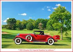 1931 Chrysler CG Imperial Roadster by LeBaron (sjb4photos) Tags: autoglamma visipix 1931chryslerimperial 1931chryslercg 2015stjohnsconcours