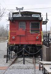 West Seneca, New York (4 of 9) (Bob McGilvray Jr.) Tags: railroad ny newyork cn train steel tracks caboose business cupola canadiannational icecreamstand westseneca