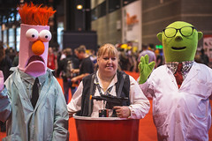 C2E2 2016 (SauceyJack) Tags: show portrait chicago face comics march costume illinois outfit comic place expo cosplay character sunday makeup il fantasy convention comicbook cosplayer mccormick pretend mccormickplace 2016 portray costumeplay c2e2 chicagocomicandentertainmentexpo canon1dx 7020028isiil sauceyjack cloneclub lightroomcc