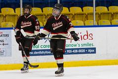Ethan & Kaleb (YYZ John) Tags: hockey ethan 37 93 pha kaleb minorhockey omha pickeringpanthers bantamaa pickeringhockeyassociation