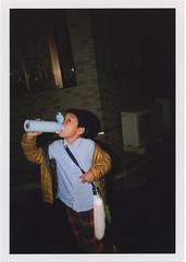 insta021 (sudoTakeshi) Tags: people film kids night fuji flash half fujifilm filmcamera waterbottle strobe fujisuperia fujisuperia400 fujisuperiaxtra400   halfcamera       goldenhalf  fsuperiaxtra400