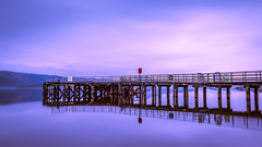 Hues (rgcxyz35) Tags: reflection luss scotland lochlomond pier