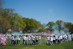 Carnival of Colors (William & Mary Photos) Tags: students festival garden spring wm williamandmary sunken holi williammary collegeofwilliamandmary collegeofwilliammary
