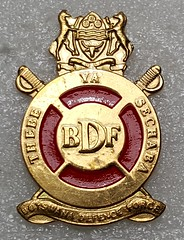 Army beret/cap badge (Sin_15) Tags: army force military ground cap badge botswana insignia beret