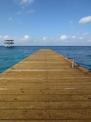 Curacao (Nelo Hotsuma) Tags: beach netherlands dutch island hotel bay pier hilton tourist resort curacao caribbean willemstad antilles piscadera