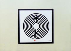 Labyrinth 236/270 (R~P~M) Tags: uk greatbritain england london art station train unitedkingdom railway londonunderground labyrinth wallinger enamel vitreousenamel