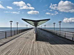 Boscombe Pier (purplezulu) Tags: pier symmetry bournemouth