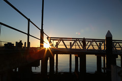Hastings Sunrise (Thunder1203) Tags: sea canon harbour au australia victoria coastal hastings westernportbay canoneos5dmarkiii sunrisehastingsmarinathunder1203