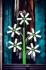Urban flowers (Melissa Maples) Tags: flowers sculpture art turkey design nikon asia trkiye istanbul nikkor vr afs  18200mm  f3556g  18200mmf3556g d5100