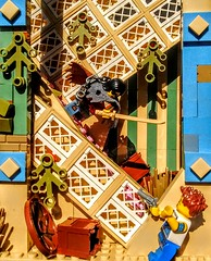 LEGO The Guardian Samurai (wesleyobryan) Tags: colorful lego ivory palace samurai katana apocalego