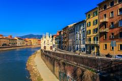 Pisa (Arutemu) Tags: city travel italien italy canon europe italia european cityscape view eu ciudad pisa tuscany vista toscana ville 6d      eos6d  canon6d