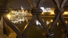 DSC01814 (gnip2001) Tags: rome roma night cupola tevere sanpietro