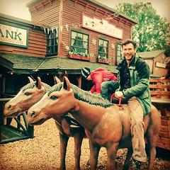 Clint Eastwood #clinteastwood #cowboy #hairyman #western... (nathanrobinson2) Tags: horses cowboy western shotgun clinteastwood malemodel realman hairyman uploaded:by=flickstagram instagram:venuename=sundownadventureland instagram:venue=269122 instagram:photo=1107472782413005015184137303