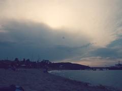 Da kommt was... (Markus Rödder (ZoomLab)) Tags: sky cloud strand sand meer wolken cloudporn ammeer