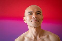 IMG_1396 (Zefrog) Tags: uk portrait man london pecs asian topless johann zefrog
