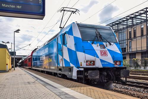 146 246-4 DB Regio Bahnland Bayern Regensburg Hbf 02.05.15