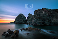 Rocks & Water... (Dru Kennedy) Tags: longexposure sunset newfoundland nd 10stop drukennedy