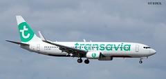 F-HTVB BOEING 737-8KS (douglasbuick) Tags: french scotland airport nikon edinburgh flickr aircraft aviation landing boeing airways airlines airliner b737800 egph d40 tranavia fhtvb