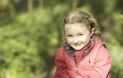 Smile, smile, smile... (Allan James Fisher) Tags: girl blonde 135mm samyang