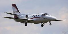 Cessna 501 Citation I N133SC Lee on Solent Airfield 2016 (SupaSmokey) Tags: lee solent cessna airfield citation 501 2016 i n133sc