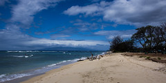 Ukumehame State Beach Park (ArneKaiser) Tags: ocean sea sky panorama beach weather clouds landscape hawaii maui pacificocean mauicollection ukumehamestatebeachpark