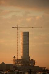 the Mall of Africa opened today (peet-astn) Tags: morning tower southafrica dawn alba crane johannesburg pwc gauteng midrand mallofafrica