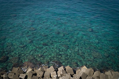 Water Blocks (Alessandro Tamburro) Tags: summer green water mare campania estate rocce ischia forio chiesadelsoccorso