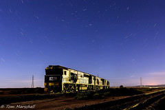 Watching Stars (Tom Marschall) Tags: night creek port train stars star energy power pacific stirling south north australia trail national 7d augusta sa coal leigh 82 pn 8222 8229 8258 alinta 7dmk2