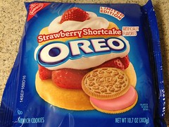 Strawberry Shortcake Oreo (hoosiermarine) Tags: cookies strawberry cookie oreo oreos limited edition strawberryshortcake shortcake limitededitionoreos limitededitionoreo