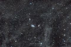 Bode & Cigar Galaxies with IFN (M81+M82) (siuba) Tags: sony cigar astro galaxy astrophotography astronomy bode galaxies takahashi dso m82 m81 kenko deepskyobject skymemo a7s siuba fs60cb tobylo