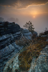 Bastei sunrise (tim_snyder13) Tags: sunrise germany deutschland ngc sonnenaufgang bastei elbsandstein