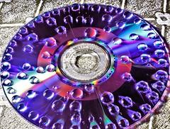 CD (Dennisbon) Tags: water canon eos dvd drops cd australia melbourne indoor 7d manual timesexposure dennisbon