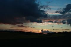 Sunset, near Challock (NovemberAlex) Tags: sunset colour silhouette clouds kent challock
