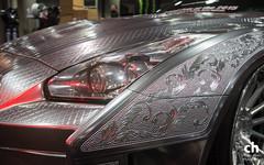 Nissan GTR (Chance Hales) Tags: skyline la losangeles nissan autoshow laautoshow gtr aftermarket 2015 r35 metalengraving