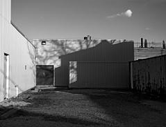 Courtyard 2 - Memory (geowelch) Tags: toronto courtyard urbanlandscape urbanfragments thestockyards olympusepl5 emptyforeground olympuszuikomdigital1442mm