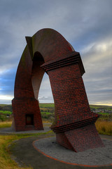 """TWISTED CHIMNEY MONUMENT, RHYMNEY, SOUTH WALES, UNITED KINGDOM. (ZACERIN) Tags: york chimney paul brian twisted sculptor the """"new """"united art"""" history"""" """"south """"christopher wales"""" """"public photography"""" """"uk monument"""" of monuments"""" kingdom"""" """"brian """"welsh """"works """"pictures artwork"""" """"history """"sculptor valleys"""" chimney"""" """"twisted """"mining """"zacerin"""" """"sculptures"""" """"monuments"""" """"caerphilly"""" """"rhymney"""" tolle"""" """"ironworks"""""""